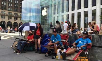 NYC Apple Store iPhone 6 Line