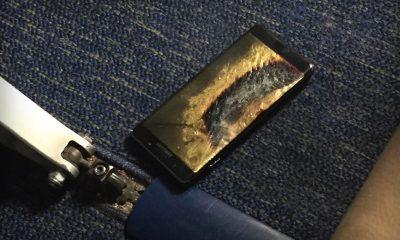 Galaxy Note 7 fire