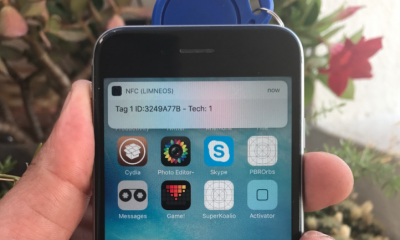 iPhone NFC Hack