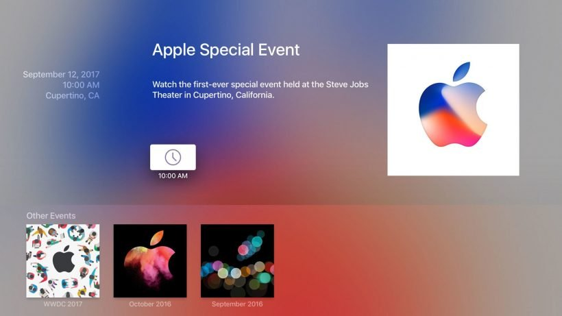 Apple Special Event TV App