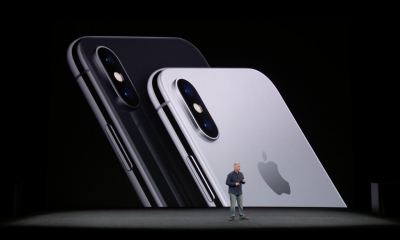 iPhone X and Philip Schiller