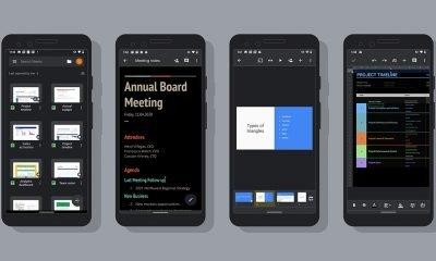 Google Docs, Sheets, Slides Dark Mode