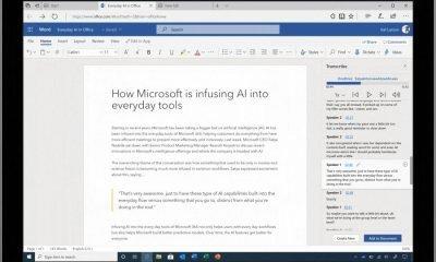 Transcribe in Microsoft Word