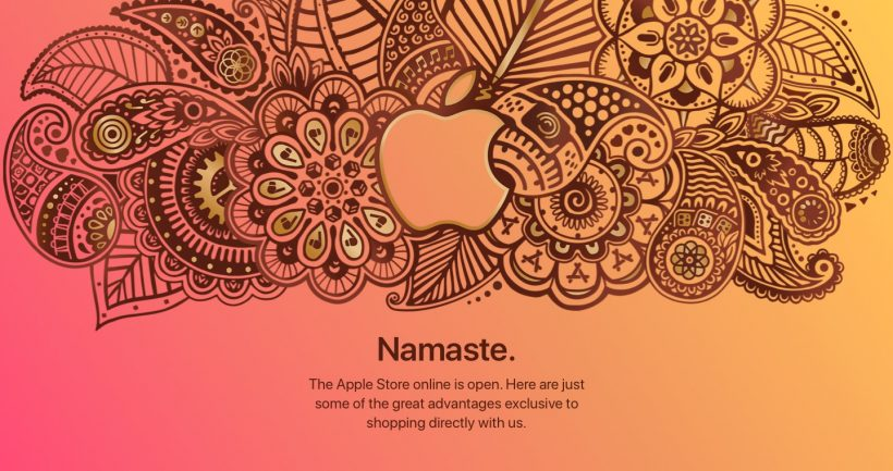 Apple Store Online India launch