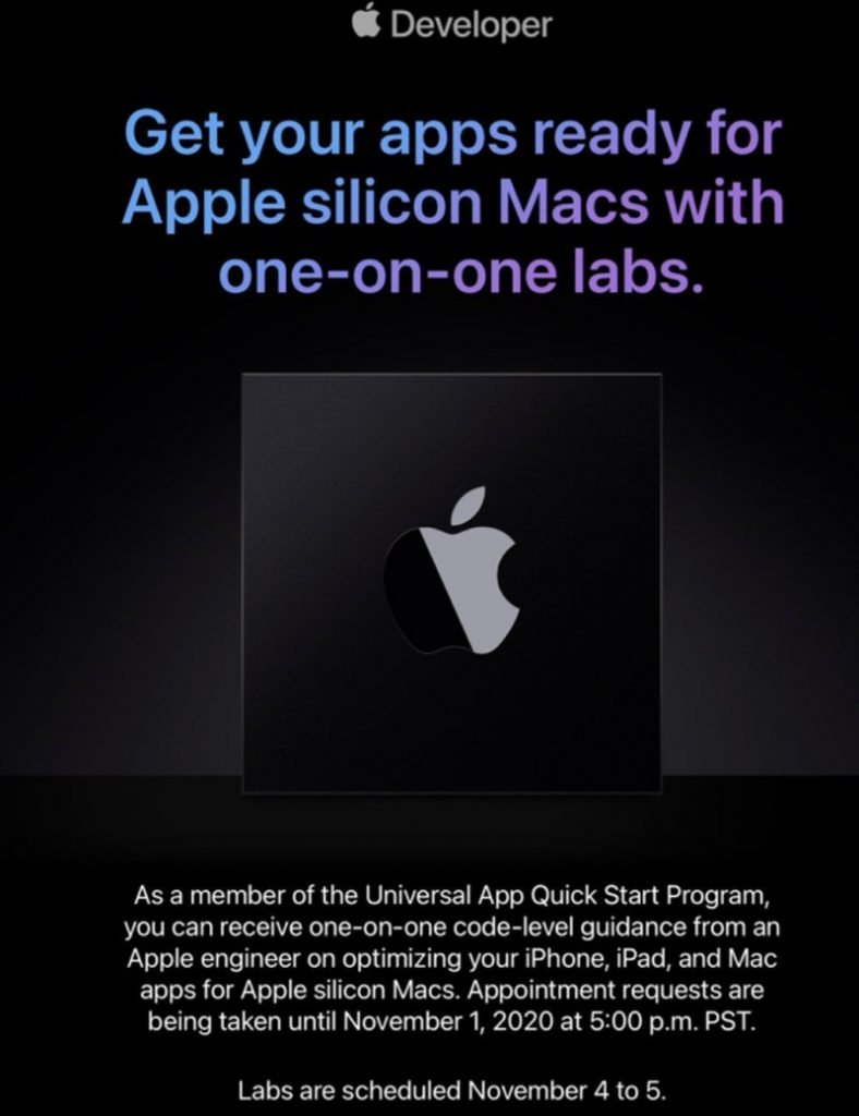 Apple Silicon labs engineer