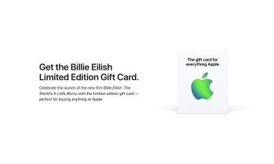 Billie Eilish Limited Edition Gift Card