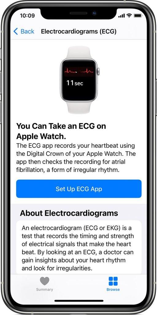 iOS 14 iPhone 11 Pro watchOS 7 ECG App